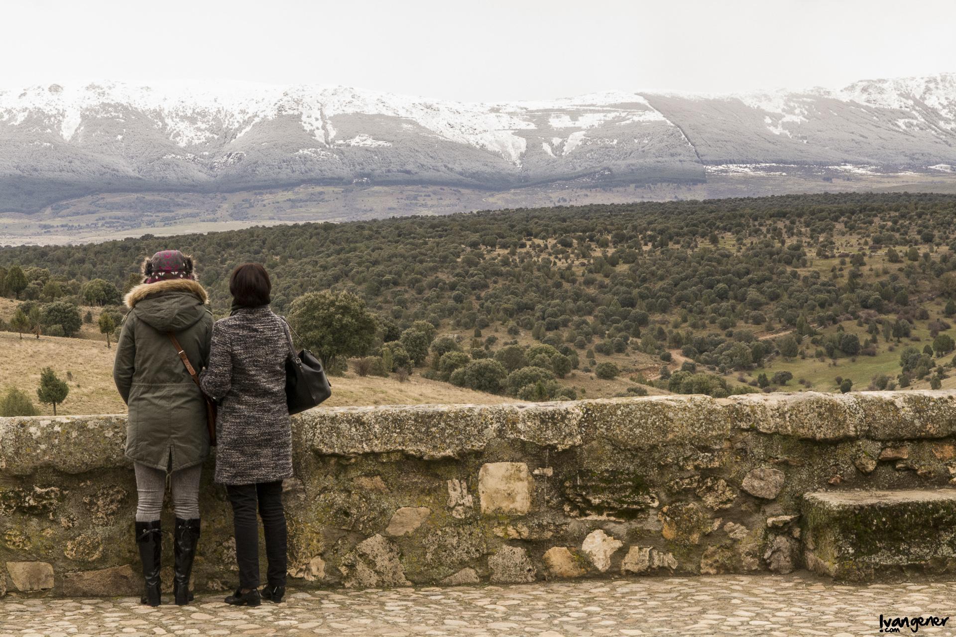 """14/02/2014 – Pedraza, Segovia. """"Vistas familiares""""."""