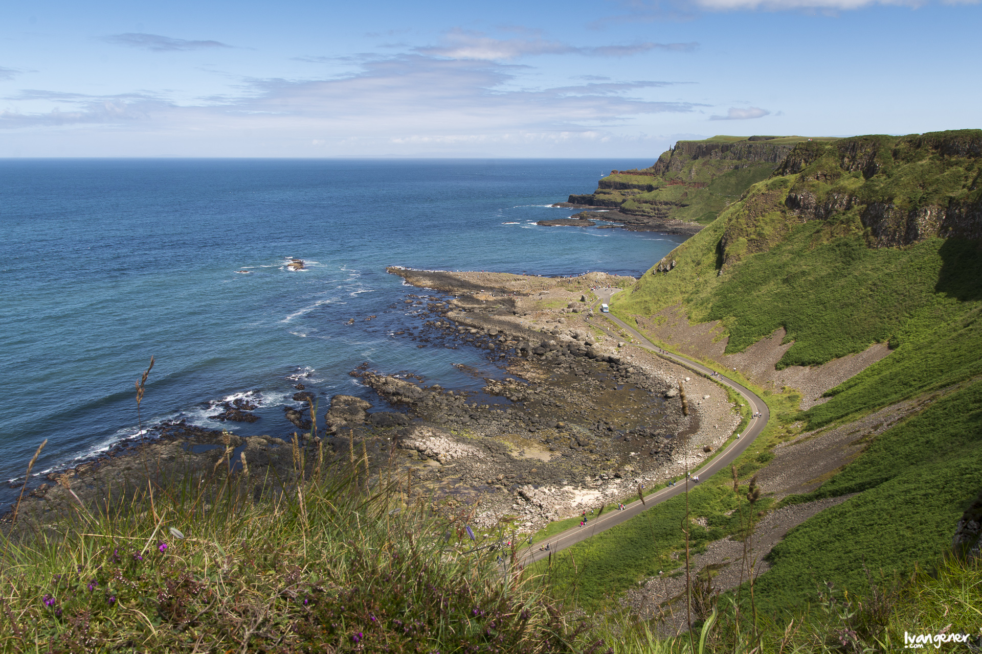 "11/07/2014 – Giant's Causeway, Northern Ireland. ""Northern Ireland Coast""."